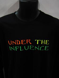 DJ T Shirts - Head Space T Shirts - Under The Influence T Shirts