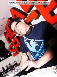 Live DJ Sets - Head Space Stores - Richard Anthony