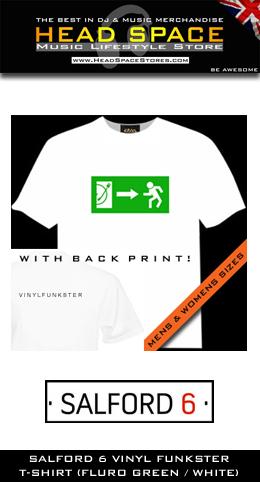 DJ T-Shirts - Head Space Stores - Salford 6 DJ T-Shirts