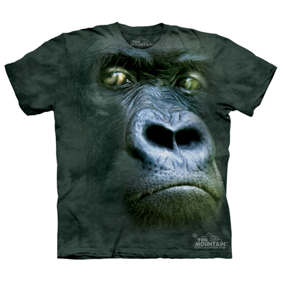Gorilla T Shirts - The Mountain T Shirts - Head Space Stores