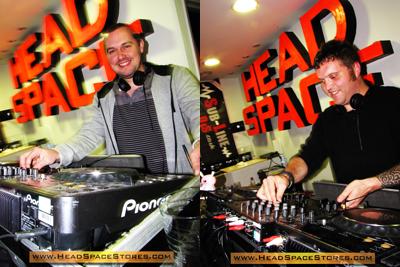 Head Space Stores - Live DJ Sets - Sub-Line DJs