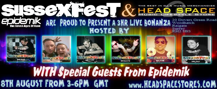 Sussexfest Live From Head Space