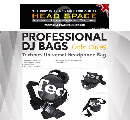 Technics Headphones Bag - Head Space Music Lifestyle Store