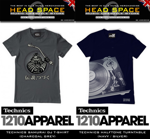 Technics T-Shirts - DJ T-Shirts - Head Space Stores