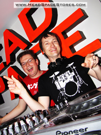 Head Space Stores - Live DJ Sets - The Nexus 3