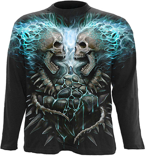 Goth T Shirts - Rock T Shirts - Metal T Shirts - Spiral T Shirts - Head Space Stores