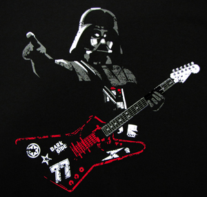 Darth Vader Guitar T-Shirt