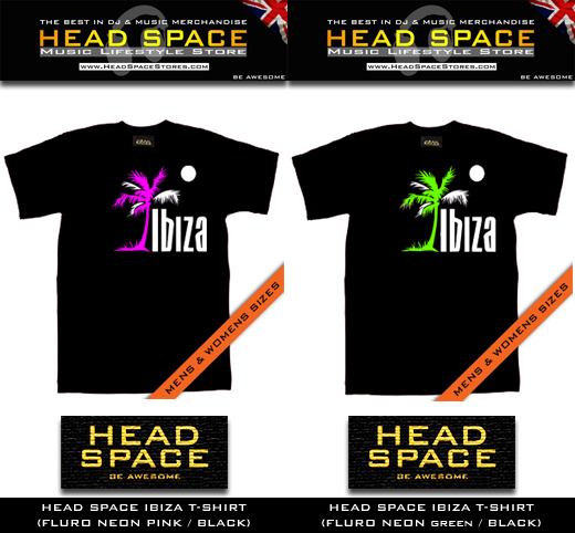 Dj and Music T Shirts - Ibiza T Shirts - Head Space Stores
