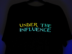 DJ and Music T Shirts - Glow Under UV T Shirts - Head Space DJ and Music T Shirts - Head Space Stores