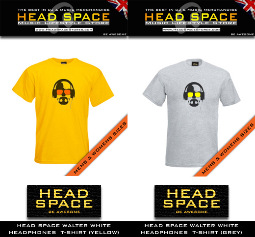 Music & DJ T Shirts - Head Space Music & DJ T Shirts - Head Space Stores