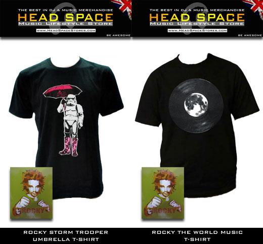 Rocky Music & DJ T Shirts