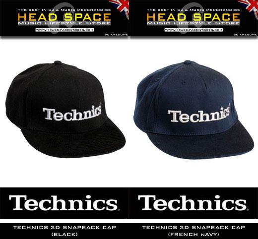DJ and Music Caps - Technics DJ Caps - Head Space Stores