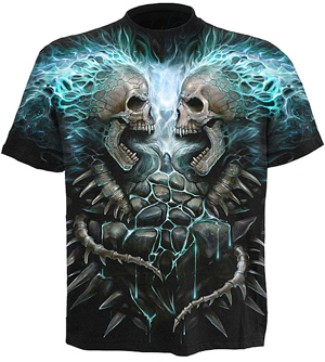 Goth T Shirts - Rock T Shirts - Metal T Shirts - Spiral T Shirts - Head Space Stores