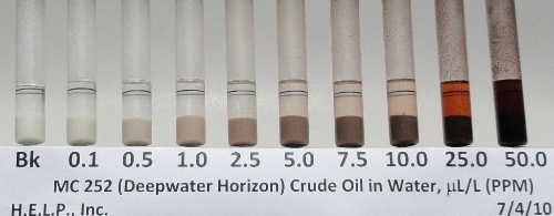 CRUDE OIL TEST RESULTS 7-4-2010