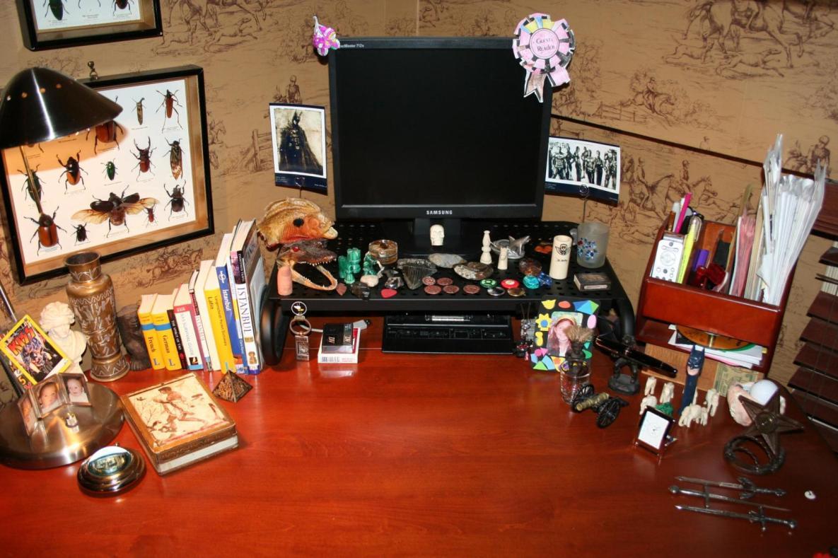a writer's desk