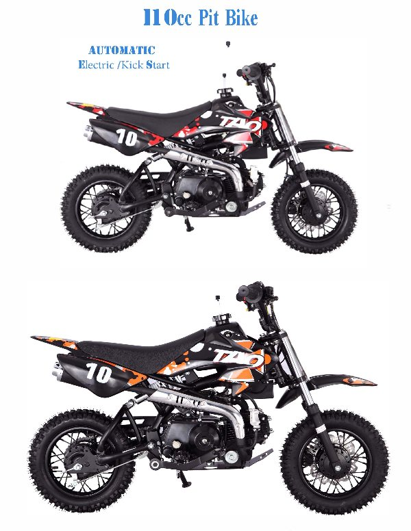 110cc automatic clutchless shift youth dirt bike db 8425 there are also some upgraded features on this inexpensive dirt bike that should not be overlooked publicscrutiny Images