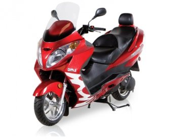 BMS 260cc scooter for sale at www.countyimports.com