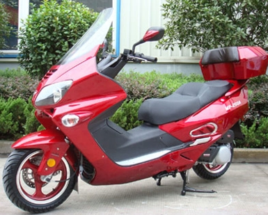 250cc roadster touring moped 250cc water cooled motor scooter free shipping mp 5120. Black Bedroom Furniture Sets. Home Design Ideas