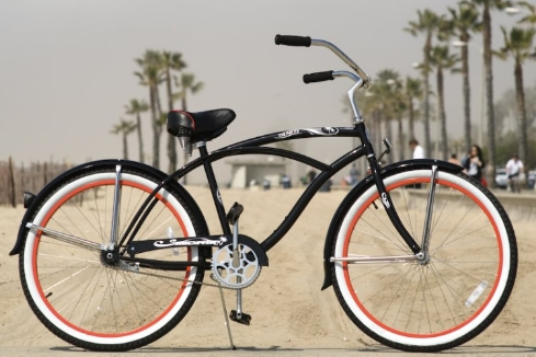 Cms Tahiti Clic Full Size Custom Beach Cruiser Free Express Shipping Bc 111