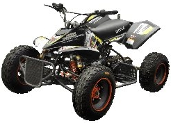 BMS 125cc typhoon racing atv