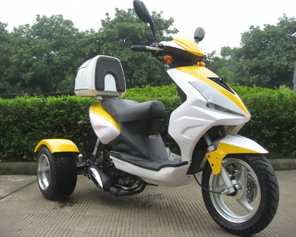 Special Cms 49cc College Cruiser Scooter 3 Wheel Trike