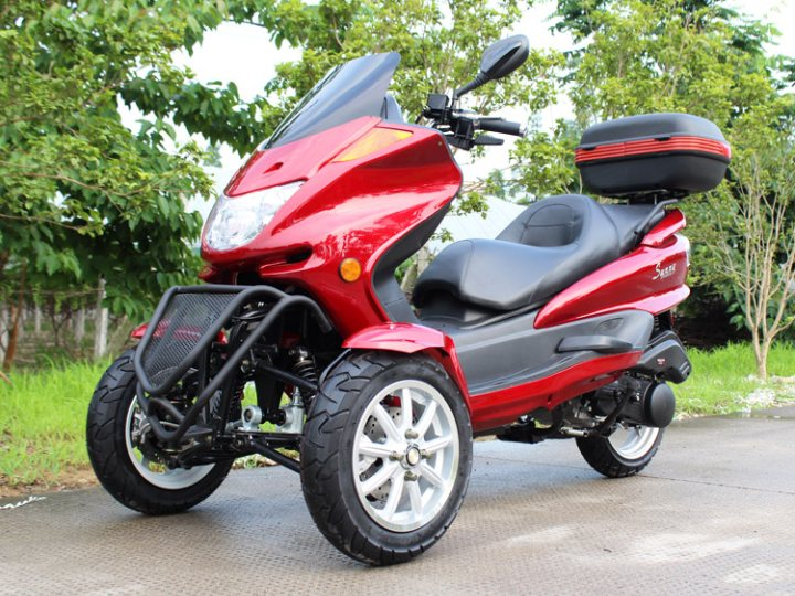 3 Wheel 150cc Roadster Trike scooter | Scooter - FREE SHIPPING for Sale (  MP 12017 )