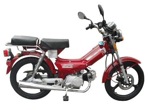 SSR Lazer 5 49cc 4 Stroke Moped For Sale Free Shipping