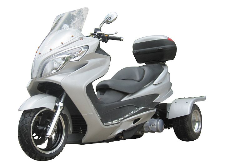 3 Wheel 150cc Cyclone Trike Touring Scooter Free Shipping For