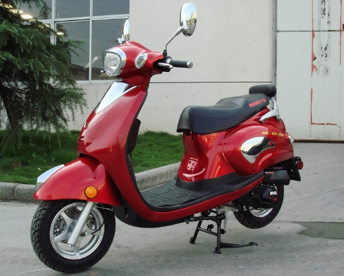 Best in it's Class for 5 years! Vespa Move Aside!