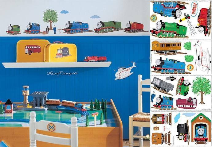 Thomas The Engine Train Stickers- Peel & Stick