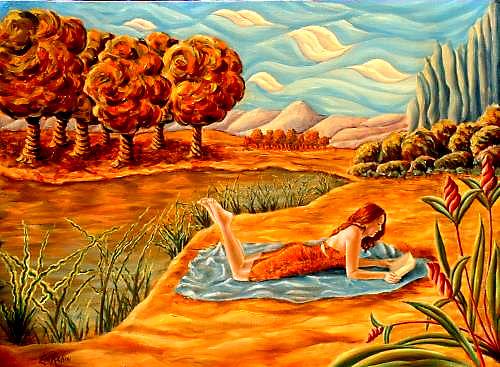 Cumulus, Oil on canvas