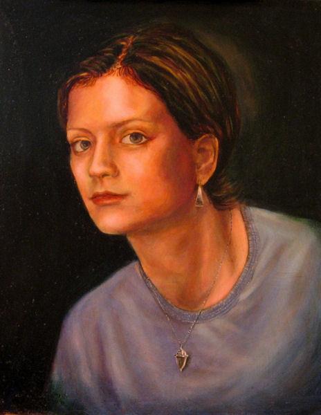 Elletra, Oil on canvas