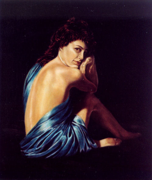 Roxanne 2, Oil on canvas