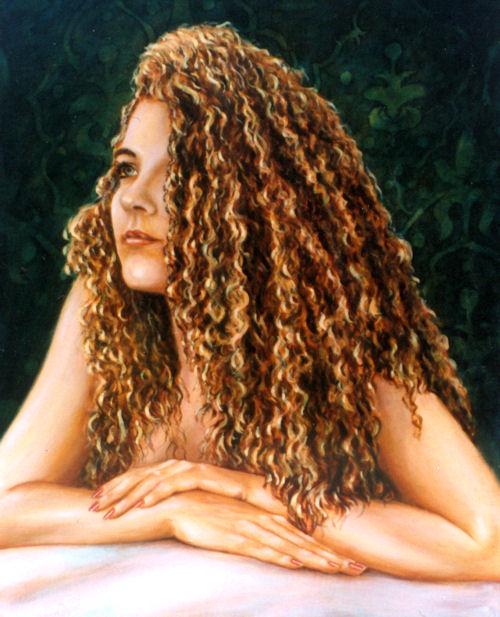 Kristi, Oil on canvas