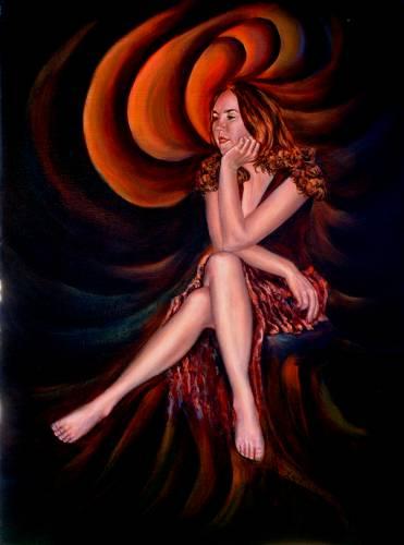 Rhonda, Oil on canvas