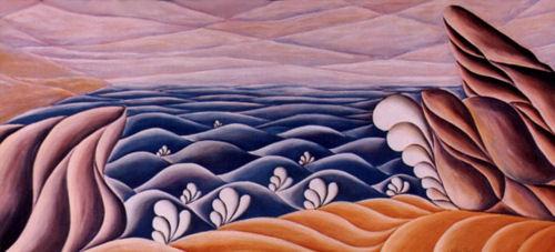 Seascape, Lithograph Print