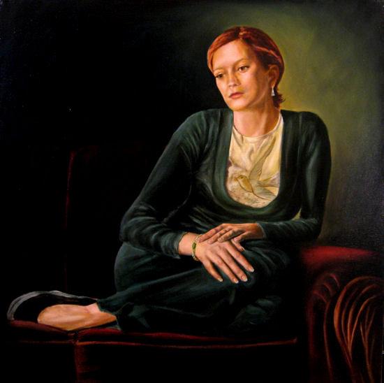Natasha, Oil on canvas