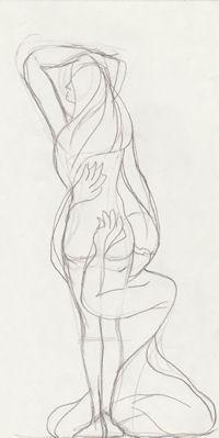 Sketch for Clinging Vine by John Entrekin