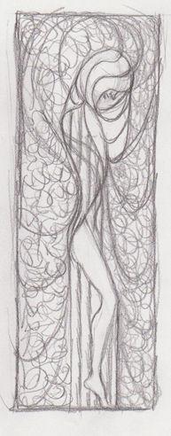 Sketch for Friday Night, by John Entrekin