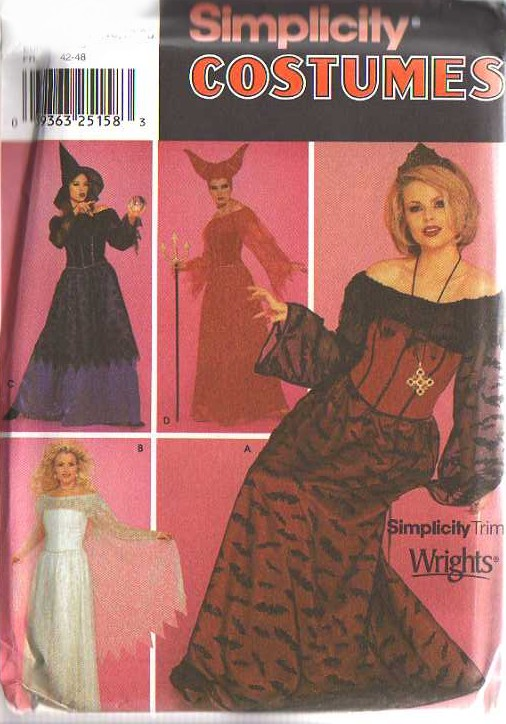MOMSPatterns Vintage Sewing Patterns Simplicity 40 Discontinued Magnificent Simplicity Costume Patterns