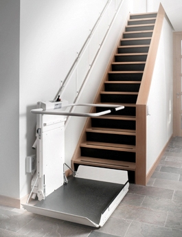 Inclined Platform Wheelchair Lift