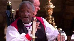 Video & Text: Presiding Bishop's royal wedding sermon
