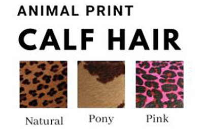 animal print chart around the collar