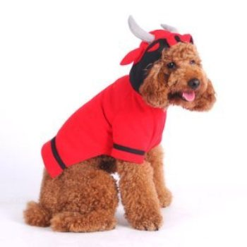 Red Bull dog  sweatshirt costume