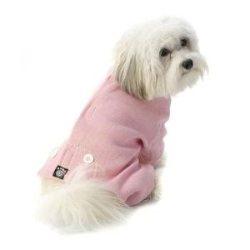Pink thermal doggie pj's