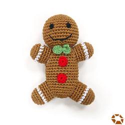 Dogo Gingerbread Man Dog Toy