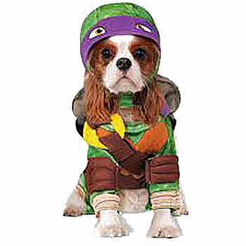donatello turtle dog Halloween costume