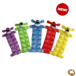 Loofa Squeaker Mat Dog Toy