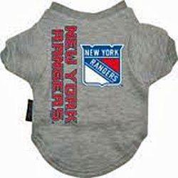 New York Ranger Dog Tee Shirt