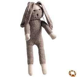 Sock Rabbit Dog Toy